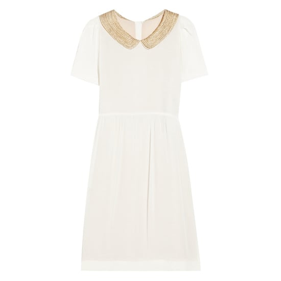 Sandro Romaine Bead-Embelissed Crepe Dress, $425