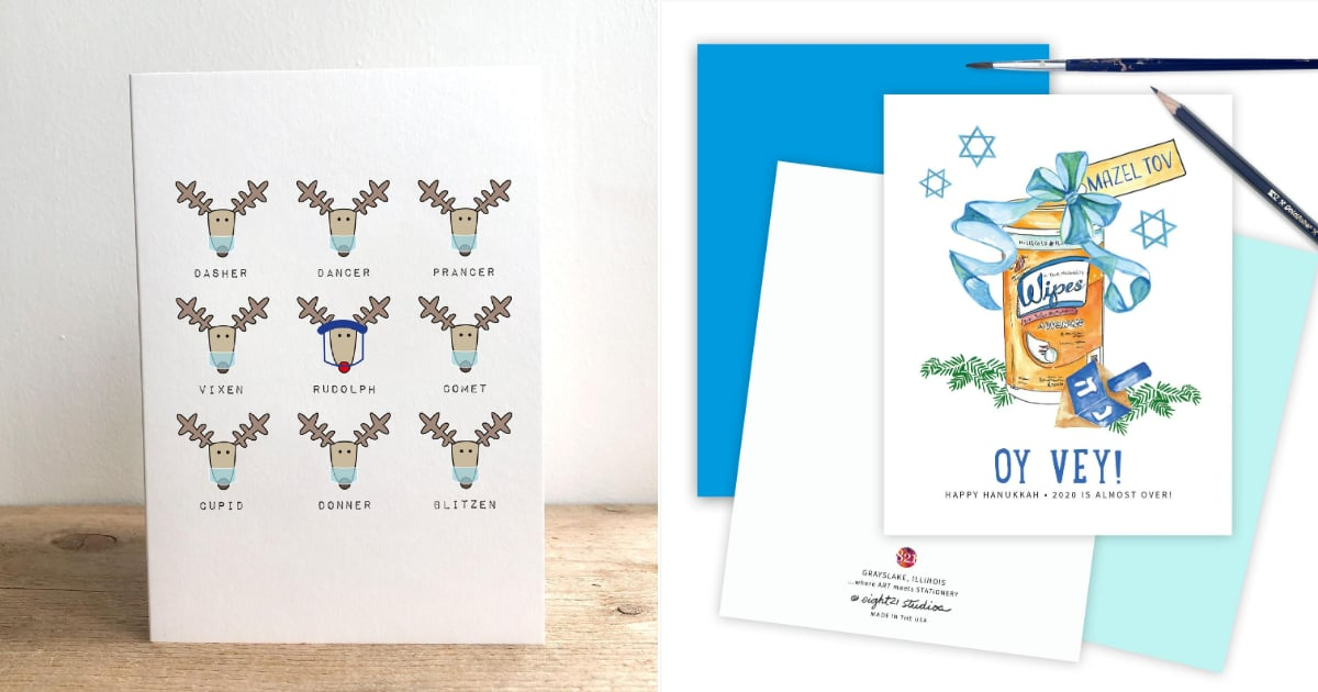 11 Pandemic-Themed Holiday Cards That Sum Up the Sh*tshow of 2020