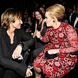 With Keith Urban.