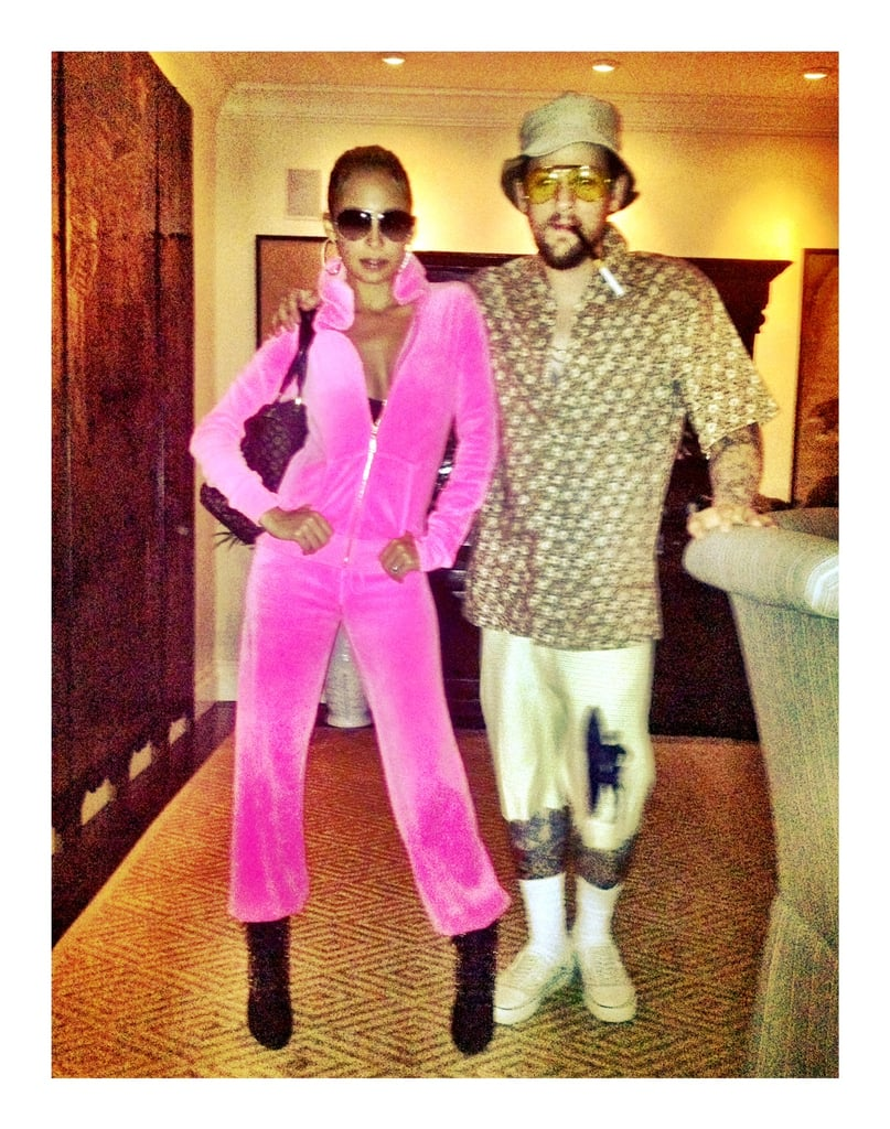 Jennifer Lopez and Hunter S. Thompson Nicole Richie and Joel Madden both took their inspiration  sc 1 st  POPSUGAR Australia & Jennifer Lopez and Hunter S. | Celebrity Halloween Costumes Inspired ...
