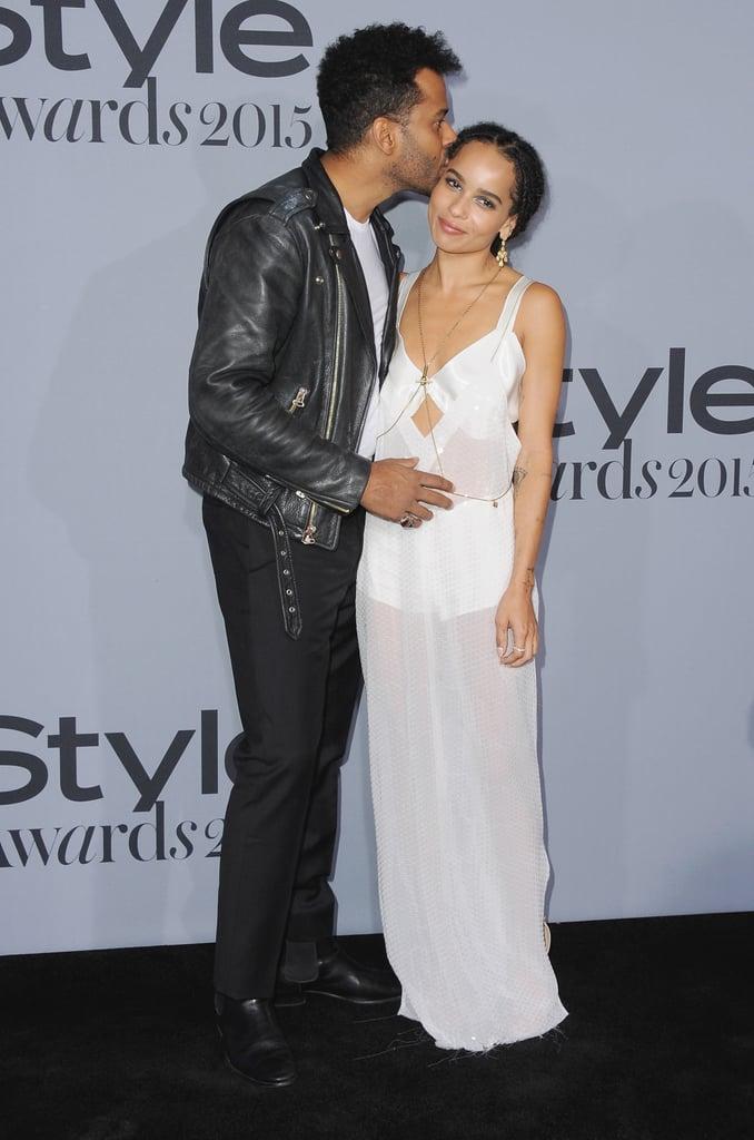 Zoe Kravitz and Lisa Bonet at the InStyle Awards 2015