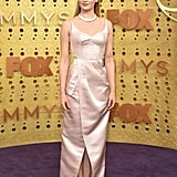 Sophie Turner's Louis Vuitton Emmys Dress Is Pink Satin