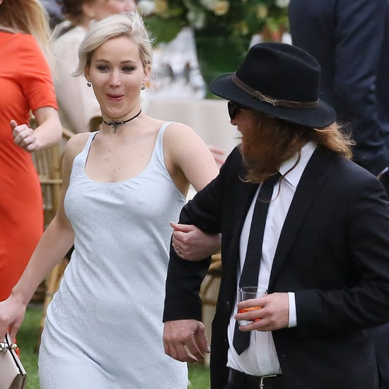 Jennifer Lawrence at Best Friend's Wedding May 2016
