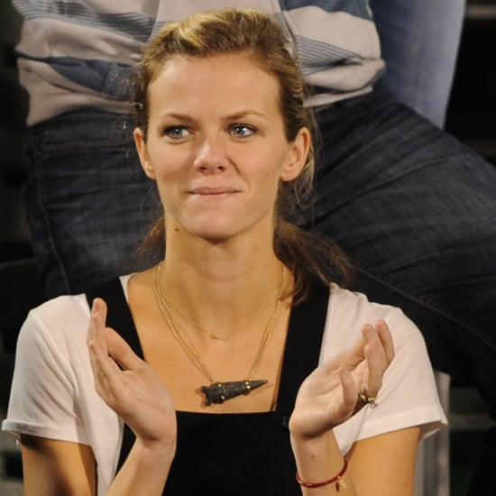 Brooklyn Decker at Andy Roddick's Match in Florida Pictures