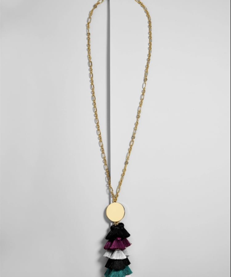 BaubleBar Rima Tassel Necklace