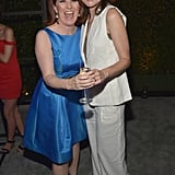 Betsy also partied with The Office's Kate Flannery. Keep scrolling for more photos from the star-studded bash.