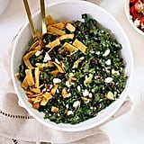 Kale Salad With Feta, Avocado, and Crispy Tortilla Strips