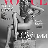 Gigi Hadid's Vogue Paris Cover Is So Hot, It Might Fog Up Your Screen