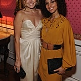 Alicia Keys and Malin Akerman posed together at the event.