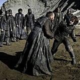 Theon Rallies the Greyjoy Men
