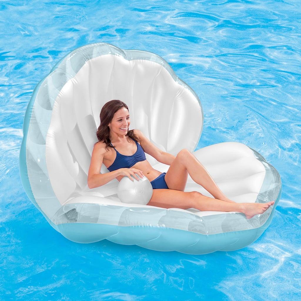 Mermaid Seashell Pool Float