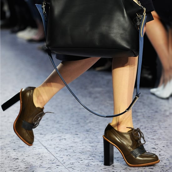 Stacked-Heel Shoes | Shopping