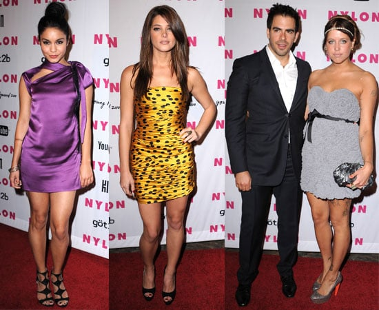 Pictures from Nylon's Young Hollywood Party With Zac Efron, Ashley Greene, Vanessa Hudgens, Peaches Geldof, Eli Roth, Zanessa