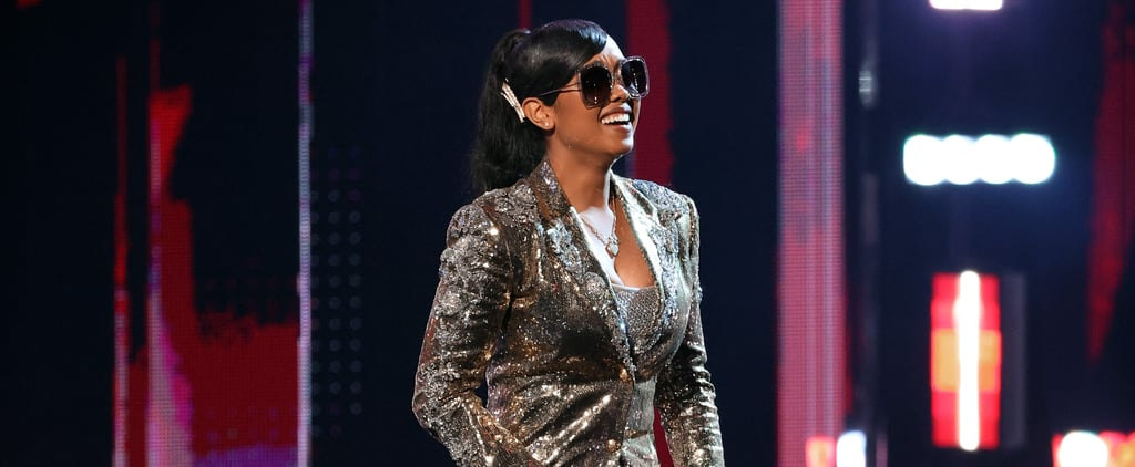 H.E.R.'s Sequin Outfits at the 2021 iHeartRadio Music Awards