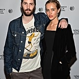 Jim Sturgess and Isabel Lucas posed at their Electric Slide premiere.