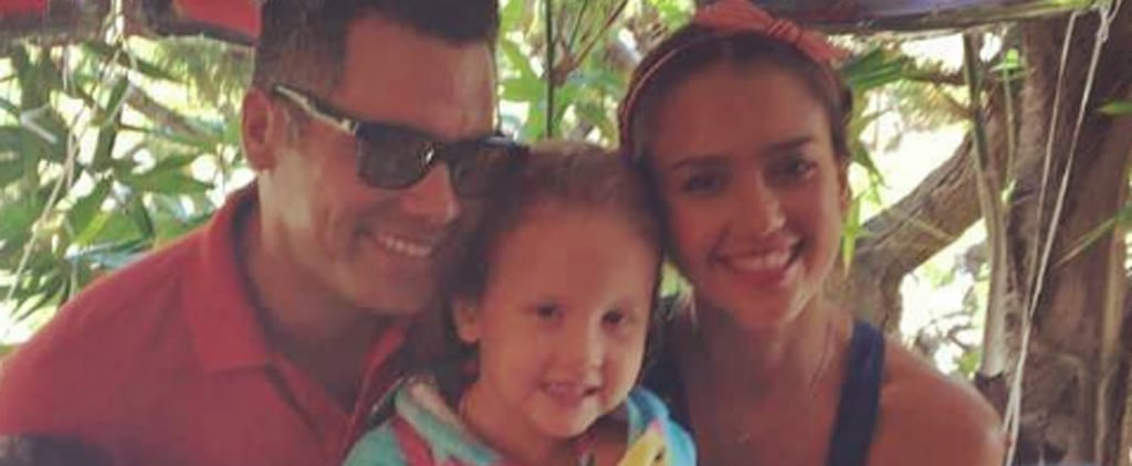 Jessica Alba's Cute Instagram Photos With Her Kids