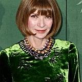 Anna Wintour at The Green Carpet Fashion Awards 2019