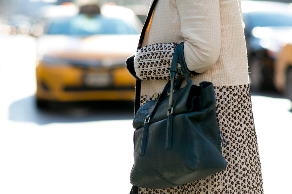 A hunter-green Pashli is like a street style classic at this point.