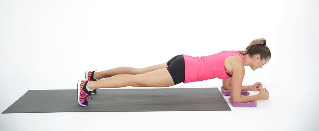 Sliding Elbow Plank