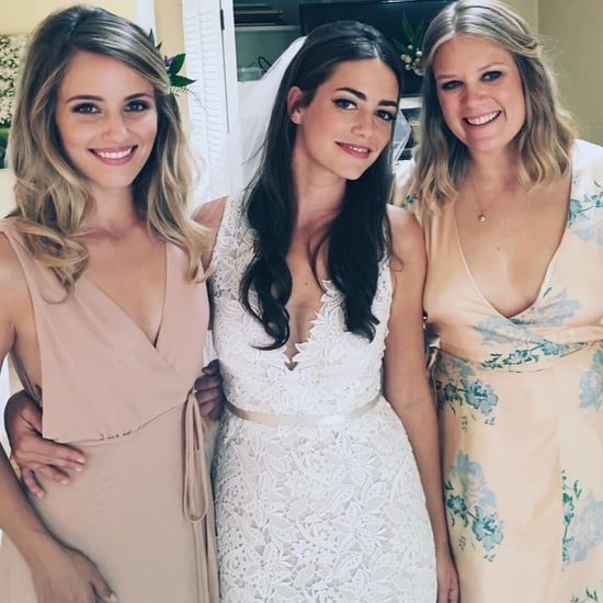 Dianna Agron's Reformation Bridesmaid Dress 2016