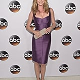 Emily VanCamp dazzled in purple at the TCAs in LA on Wednesday.