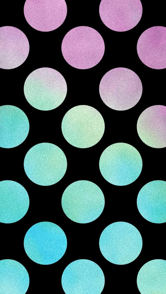 Textured Dots In Black Iphone Wallpaper Popsugar Tech