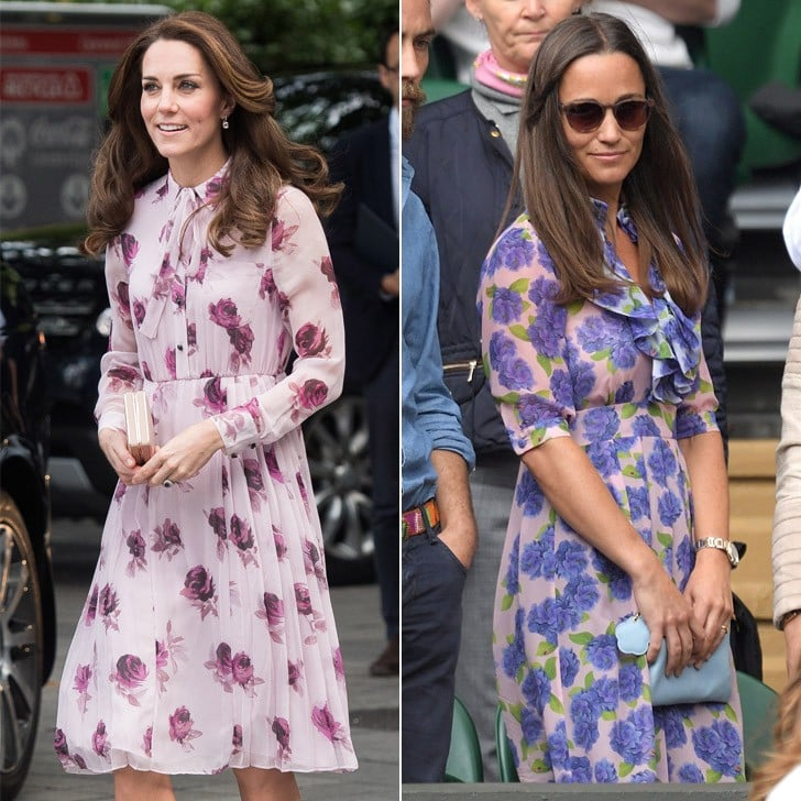 Kate and Pippa Middleton's Similar Style