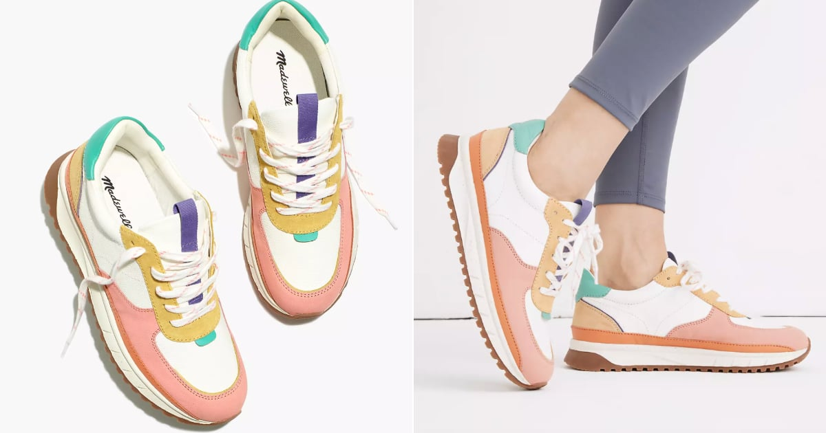 Here Are the Colorful Sneakers Fashion-Lovers Are Going Crazy For