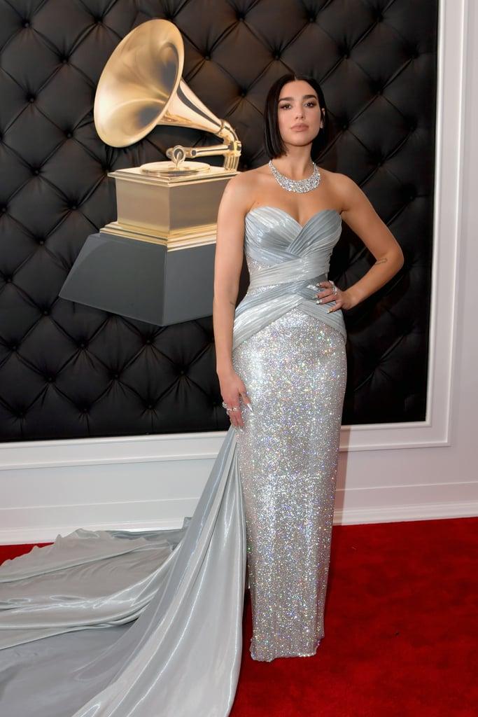 Dua Lipa Dress at Grammy Awards 2019