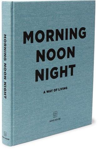 Soho Home - Morning Noon Night Hardcover Book - Blue ($42.24)