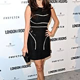 Selena Gomez took the classic route (with a twist) in her little black Marios Schwab dress with white piping.