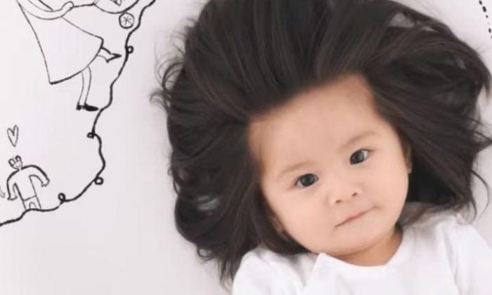 Baby Chanco Pantene Hair Model Popsugar Family