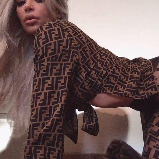 Kim Kardashian's Fendi Outfit