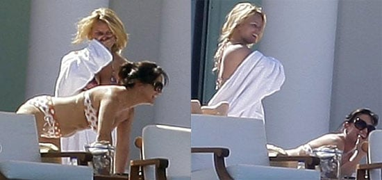 Jessica Simpson in a Bikini in Cabo, Dancing on the Cover of People with Tony Romo at Ashlee's Wedding