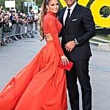 Jennifer Lopez and Alex Rodriguez At 2019 CFDA Awards