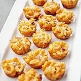 Three-Cheese Mini Macaroni and Cheese Bites