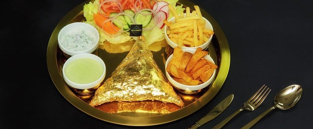 سمبوسة ذهبيّة في دبي