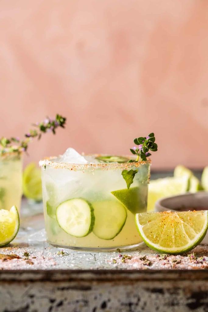 Spicy Cucumber Margarita Pitcher