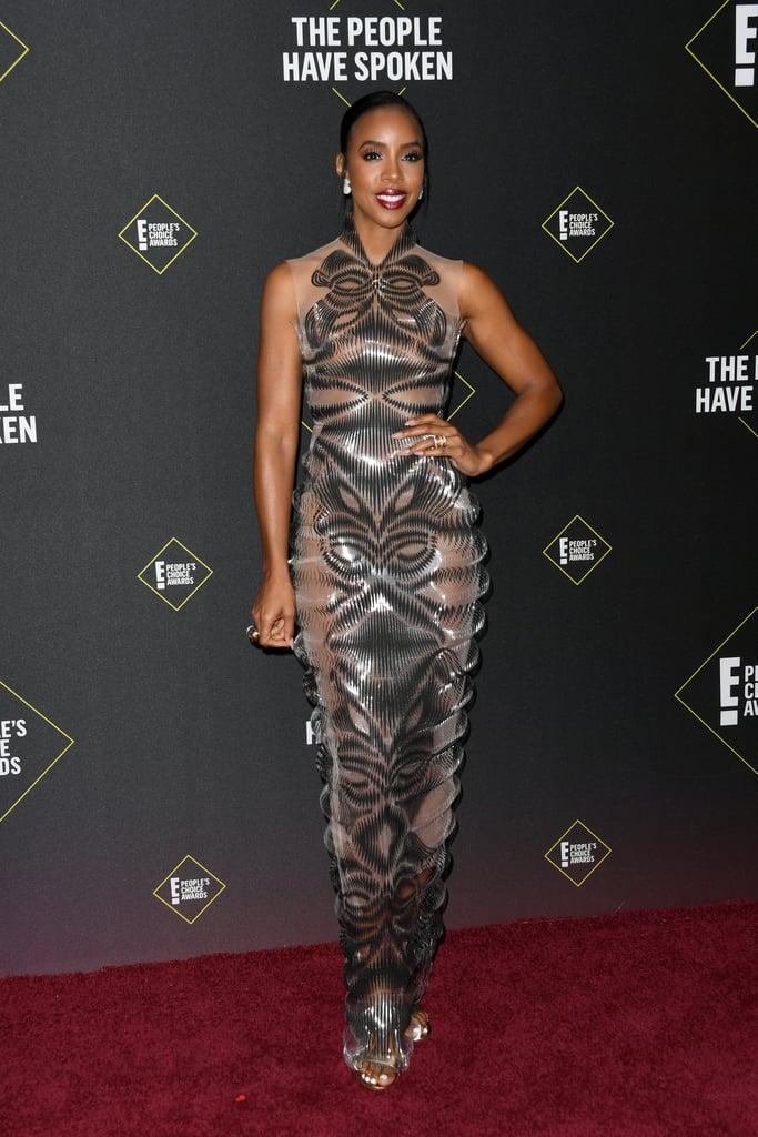 Kelly Rowland at the 2019 People's Choice Awards