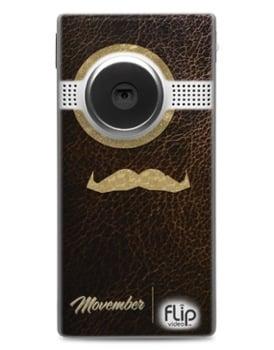 Movember Flip Cameras