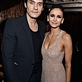 Pictured: John Mayer and Nina Dobrev