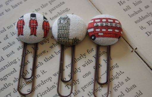 British-Themed Paper Clips