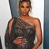 Ciara at the Vanity Fair Oscars Afterparty 2020