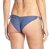 The Wavy Brazilian Side Tie Bikini Bottoms ($74) come with side ties.