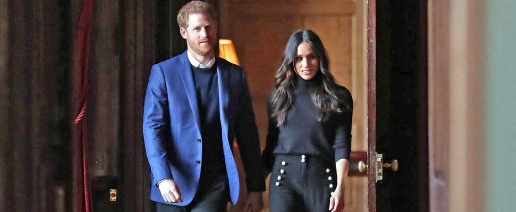Meghan Markle Wearing Black