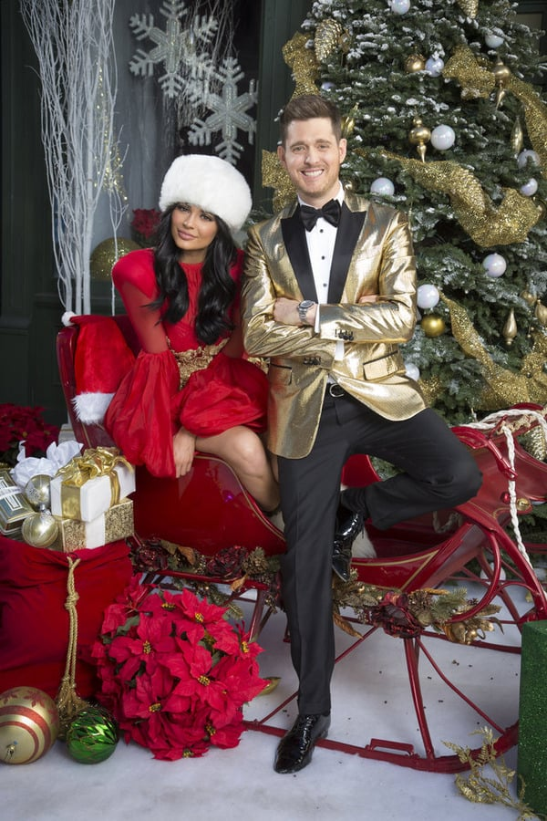 Michael Buble Christmas 2021 Ctv Michael Buble Christmas Photo With Kylie Jenner Popsugar Celebrity
