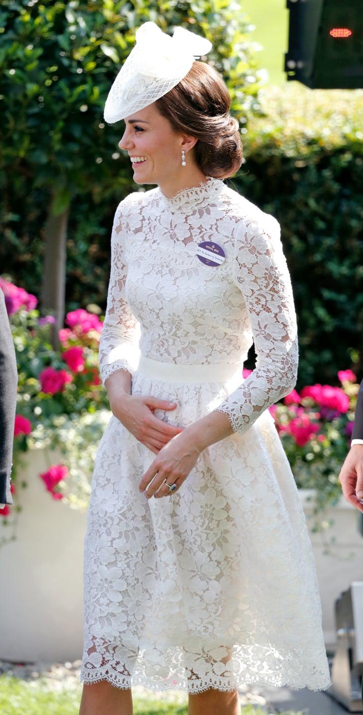 Royal Ascot, June 2017 | Kate Middleton Wearing Alexander ...
