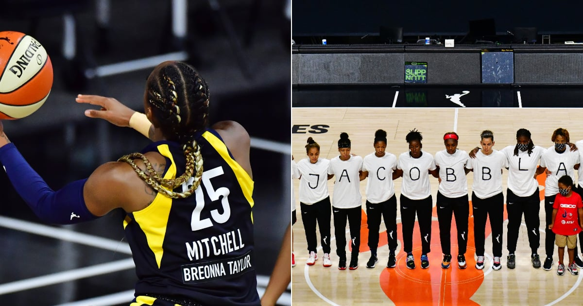 The WNBA Was Just Honored For Its Work to Lead Conversations About Racial Justice