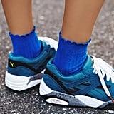 A Feminine Pair of Socks to Wear With Heels