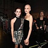 Emma Watson and Cara Delevingne